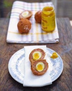 Wee Scotch Eggs- Jamie Oliver