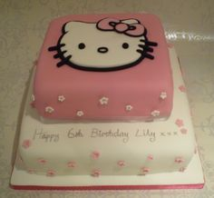 Hello Kitty Birthday Cake – Icemaidencakes cakepins.com