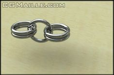 Tutorial Inverted Round Of Chain Maille - CGMaille Silver Earrings Online, Silver Hoop Earrings, Silver Bracelets, Stud Earrings, Silver Rings, Wire Wrapped Jewelry, Wire Jewelry, Beaded Jewelry, Chainmaille