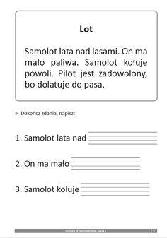 Znalezione obrazy dla zapytania metoda krakowska karty pracy czytanie ze zrozumieniem