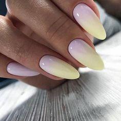 Ombre Nail Designs For This Spring/Summer - Die besten Nageldesigns von 2020 Cute Acrylic Nails, Cute Nails, Pretty Nails, My Nails, Nails Today, Fabulous Nails, Perfect Nails, Ombre Nail Designs, Nail Art Designs
