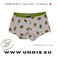 UNDIS www.undis.eu die bunten, lustigen und witzigen Boxershorts & Unterhosen für Männer, Frauen und Kinder. Handgemachte Unterwäsche - ein tolles Geschenk! #geschenkideenfürkinder #geschenkefürkinder #geschenkset #geschenkideenfürfrauen #geschenkefürmänner #geschenkbox #geschenkideen #geschenkidee #shopping #familie #diy #gift #children #sewing #handmade #männerboxershorts #damenunterwäsche #schweiz #österreich #undis Casual Shorts, Women, Fashion, Briefs, Funny Underwear, Gift Ideas For Women, Men's Boxer Briefs, Gifts For Children, Great Gifts