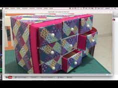 Vida com Arte   Caixa de Chá em Cartonagem Projetada por Alice Yozhiyoka - 18 de Julho de 2014 - YouTube