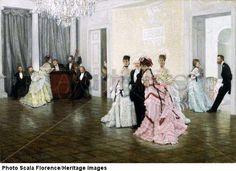 "James Jacques Joseph Tissot  ""Too Early""  1873"