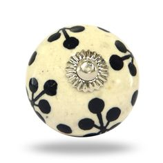Round Decorative Door Knob For A Traditional Or By TrincaFerro