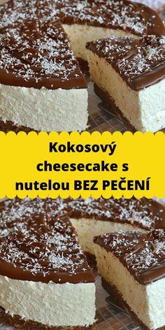 Nutella, Tiramisu, Cheesecake, Paleo, Food And Drink, Baking, Ethnic Recipes, Desserts, Mascarpone