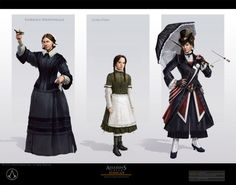 Assassins Creed Syndicate Concept Art