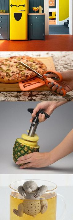 43 Things Under $25 for the kitchen! There's some really funny stuff in here, and other stuff that seems crazy not to have.