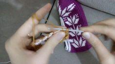 How To - Tunisian Crochet Booties Tunisian Crochet, Easy Crochet, Crochet Stitches, Crochet Baby, Knitting Patterns Free, Free Knitting, Crochet Patterns, Crochet Shoes, Crochet Slippers