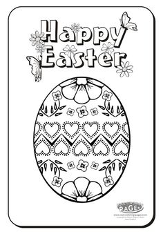 Image detail for -Easter Egg no.4 - Easter Coloring Pages ::: COOL COLORING PAGES ...