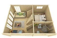 Attefallshus med loft. Huset 'Jack' med 70mm väggtjocklek Med fönster och dörrar som tillval (se våra två olika fönster/dörr tillval under 'tillbehör' samt andra bra tillbehör)Attefallshuset Jack är möjligheternas stuga för dig som vill ha ett rymligt fritidsboende. Det är gott om plats för både sängplatser, storstuga, matplats och badrum.Se specifikation nedanLadda ner konstruktionsritning →Ladda ner bygganmälan →Ladda ner bygglovsritning →Ladda ner materialspecifikation →