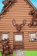 log cabin cake design - Google Search
