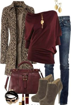 fashion 2015 Jean Outfits, Cute Outfits, Trendy Outfits, Fall Winter Outfits, Autumn Winter Fashion, Look Fashion, Fashion Outfits, Fashion 2015, Fall Fashion