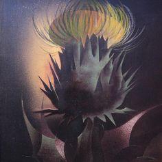 "Vicente Martín  ""Cardo"" 70 X 70 cms. Acrílico sobre tela Año 1988  http://www.portondesanpedro.com/ver-producto.php?id=9836"