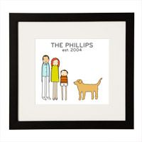 PERSONALIZED FAMILY PRINT|UncommonGoods