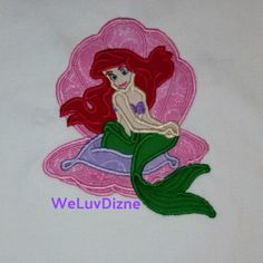 84d5b225 Little Mermaid applique tee #weluvdizne #disneybound #littlemermaid First  Class Shipping, Family Vacation