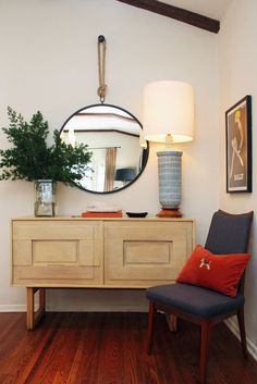 Love this cradenza!  @apartmenttherapy