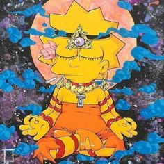 Meditation may be a challenge for most people to do as a habit. There are several easy meditation techniques that Lisa Simpson, Zen Meditation, Arte Dope, Easy Canvas Art, Stoner Girl, Cultura Pop, Psychedelic Art, Feminine Mystique, Trippy