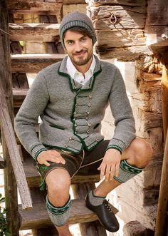 Fashion and Lifestyle Guys In Beanies, Grey Fashion, Mens Fashion, German Men, Men In Heels, Beard Model, Fairy Clothes, Short Socks, Leather Trousers