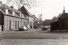De Negristraat in de Rozengaard. Een foto uit de 70er jaren.