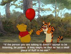 Deze kindervriend komt vaak met quotes waar je soms een groot deel van je dag over nadenkt. Dit zijn 22 van Winnie de Pooh's beste quotes.