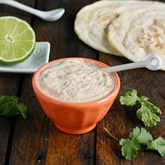 Fish Taco Sauce - a wickedly delicious and super easy white sauce for fish tacos.
