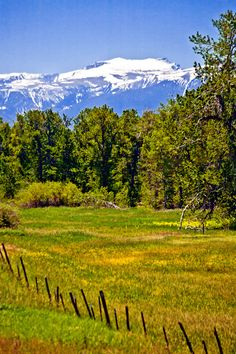 Foothills of the Beartooth Mountains, northern border of Yellowstone National Park, Montana; photo by Giovanni Gervasi