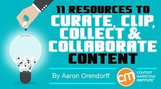 11 recursos para curar, guardar, organizar y compartir contenido #socialmedia #contentcurator