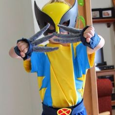 33 best wolverine for omer images on pinterest carnivals diy learn how to make this awesome easy x men wolverine costume solutioingenieria Images