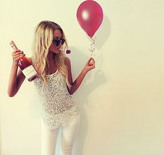 Birthday Photo-shoot similar to this but with lots of glitter and balloons