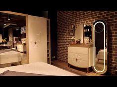 Pelesenk Home Design Bedroom Design Gold, Simple Bedroom Design, Bedroom Closet Design, Bedroom Furniture Design, Home Room Design, Home Decor Bedroom, Home Interior Design, House Design, Design Youtube