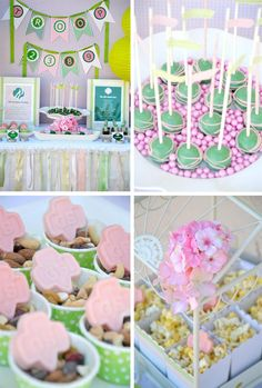Girl Scouts Party from Crissy's Crafts #party #parties #girlscouts