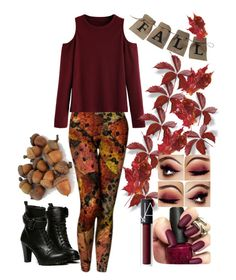 """""""Fall Sweater-Contest"""" by lyfematerial on Polyvore featuring WithChic and NARS Cosmetics"""
