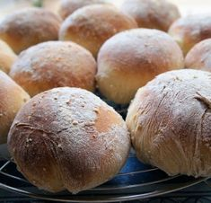 Lavender and Lovage   Last Day to Celebrate British Bread Week with my Mum's Scottish Morning Rolls – Baps   http://www.lavenderandlovage.com