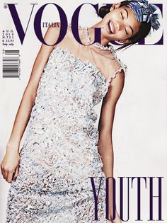 Chanel Iman Vogue
