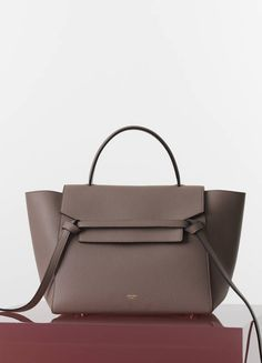 Yes. Celine. SMALL BELT BAG IN DUNE DRUMMED CALFSKIN 30 X 24 X 22 CM (12 X 9 X 9 IN) CALFSKIN AND SUEDE LINING 175523WVK.03UN