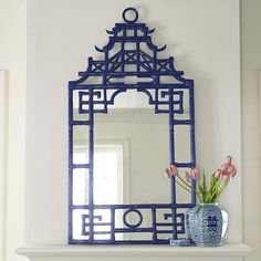 Pagoda Mirror, I think we could use blue, might be nice to add a new color to the mix.