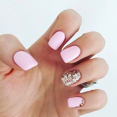 Best Pink Nails - 14 Best Pink Nails for 2018 - Hashtag Nail Art #diynailart
