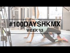 Week 13 #100daysHKMX challenge. Weekly workout video's with Manon and Guy to get fit and in shape. Manon tells you all about her healthy lifestyle on MonStyle!