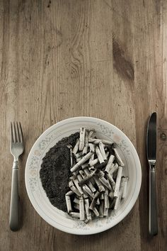 food :D Creative and Clever Anti-Smoking Ads