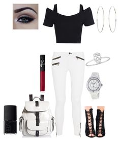 """Untitled #72"" by patrice-1020 on Polyvore featuring rag & bone, Accessorize, NARS Cosmetics, Chanel and Kenneth Cole Reaction"