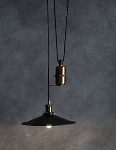 Paris Rise and Fall Ceiling Light