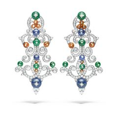 The Mediterranean Sea Inspires Giampiero Bodino's High Jewelry ❤ liked on Polyvore featuring home, home decor, jewelry storage, inspirational home decor, jewellery box, jewel box, fleur de lis home decor and spring home decor