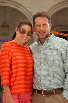 Rebeca Escribens y Paul Martin son los padres de la protagonista Rosario