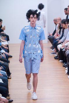 Comme des Garçons Shirt Spring 2016 Menswear Fashion Show