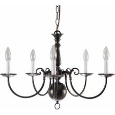 Found it at Wayfair - 5 Light Candle-Style Chandelier