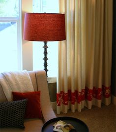 Home Dzine Add Trim To Plain Curtains How Decoratediy