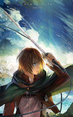 Armin Arlert from Attack on Titan (Shingeki no Kyojin)