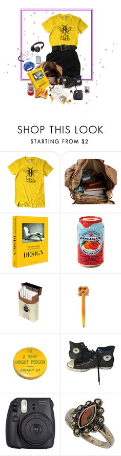 """""""Save the Bees"""" by owlenstar on Polyvore featuring Assouline Publishing, Converse, Fuji, Dorothy Perkins and Vineyard Vines"""
