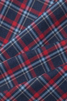 Wonderful Choose the Right Fabric for Your Sewing Project Ideas. Amazing Choose the Right Fabric for Your Sewing Project Ideas. Shirting Fabric, Tartan Fabric, Red Plaid, Plaid Flannel, Flannel Shirt, Crochet Hook Set, Sewing Patterns, Sewing Ideas, Casual Shirts For Men